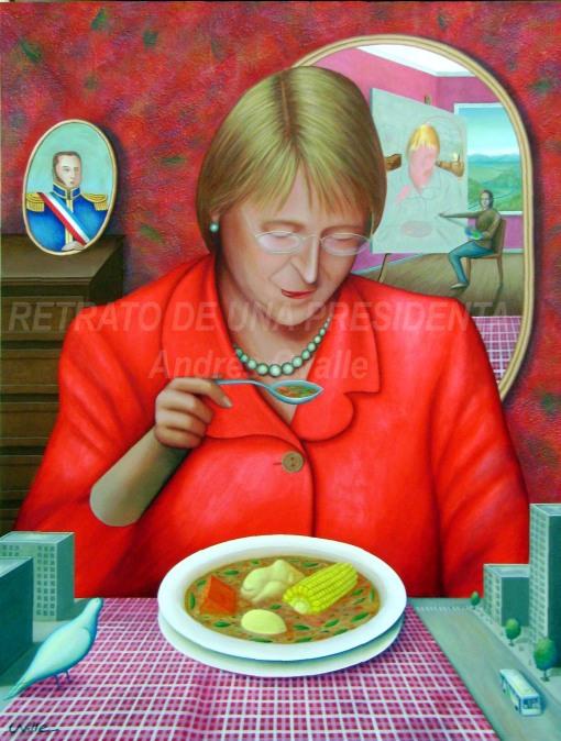 Pintura acrílica y texturas sobre tela de 170 x 130 cm. 2007